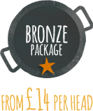 Wedding Catering bronze package