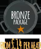 Wedding Catering bronze package