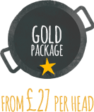 Wedding Catering gold package