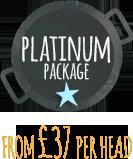 Wedding Catering platinum package