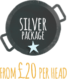 Wedding Catering silver package